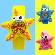 Five-pointed starfish Boy Watch for Kids Baby Toy Girl Watch for Children Clock Child Quartz Wristwatches Montre pour enfants цены онлайн