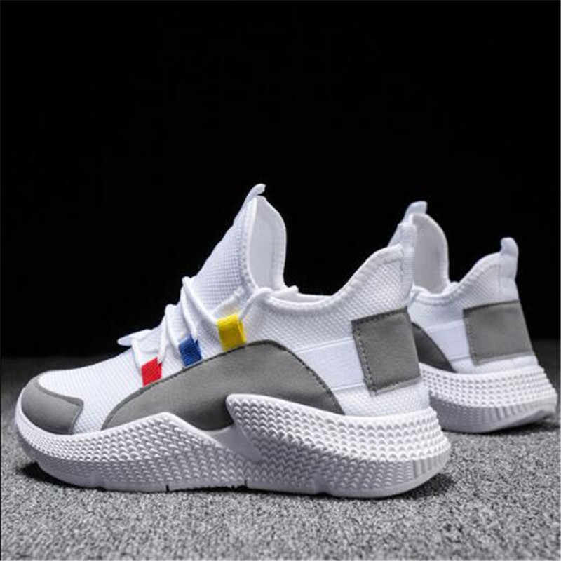 PUIMENTIUA 2019 Women Shoes Size 36-40 Men Sneakers Summer Breathable Krasovki Shoes Casual Shoes Male Tenis Masculino Sneakers