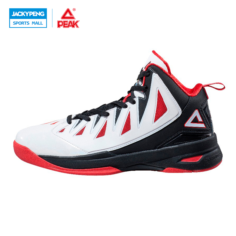 PEAK Speed Eagle II FIBA Series Professional Men Basketball Shoes Authent Cushion-3 REVOLVE Tech Athletic Sneakers Boots peak sport star series george hill gh3 men basketball shoes athletic cushion 3 non marking tech sneakers eur 40 50