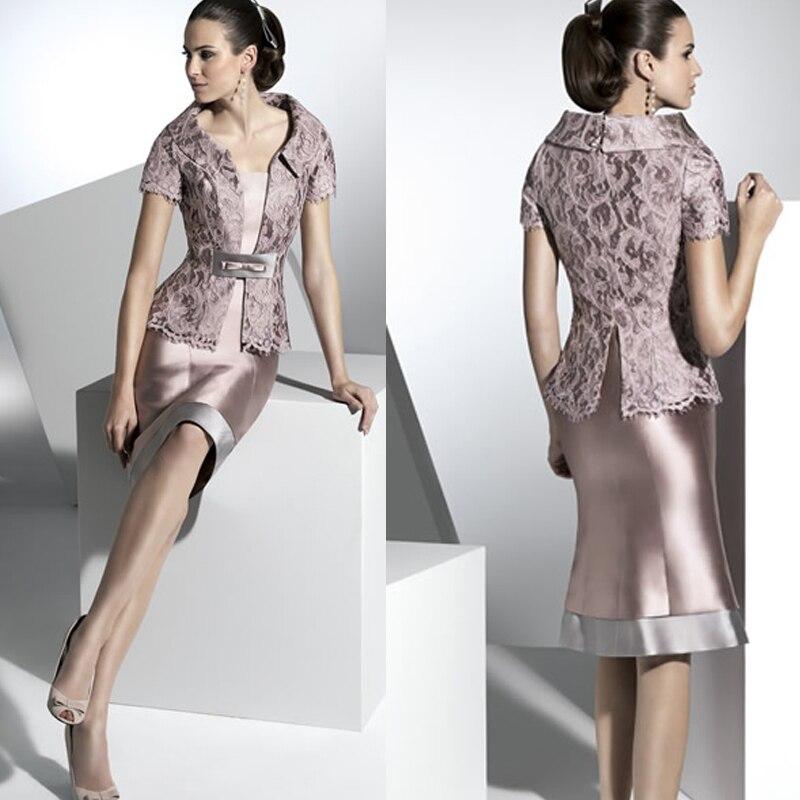 7cf5c7b6d7 Wiosna 2015 matka panny młodej suknia kolano długość plus size matki panny  młodej sukienki wesela kobiety formalna suknia vestido de madrinha w Wiosna  2015 ...