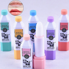Milk Moisturizing Lip Balm Lip Protector Lipstick Moisture Lip Balm Long Lasting Nourish Protect Lips Labial Balm Women Girls