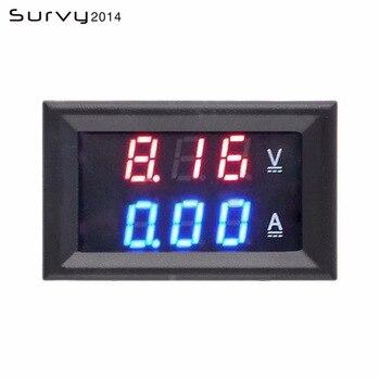 цена на 0.28 inch Mini Digital Voltmeter Ammeter DC 100V 10A Panel Amp Volt Current Meter Tester 0.28
