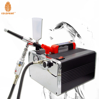 Dual-Action Gravity Airbrush Sunless TANNING System Kit Simple Tan Solutions Compressor