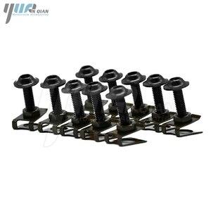 Image 2 - 10PCS 6mm CNC אופנוע גוף עבודת fairing ברגים screwse עבור honda cbr600 f2 f3 f4 f4i cbr1000rr Cbr rr 1000 1000rr cbr1000