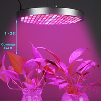 50W Full Spectrum Panel LED Grow Light AC85~265V Greenhouse Horticulture Grow Lamp for Indoor Plant Flowering Growth