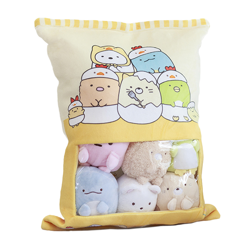 Sumikko Gurashi jouet en peluche cadeau d'anniversaire ensemble comprend 8 pièces petite poupée neko Shirokuma Tonkatsu Tokage Pingouin Tapioca mignon peluches