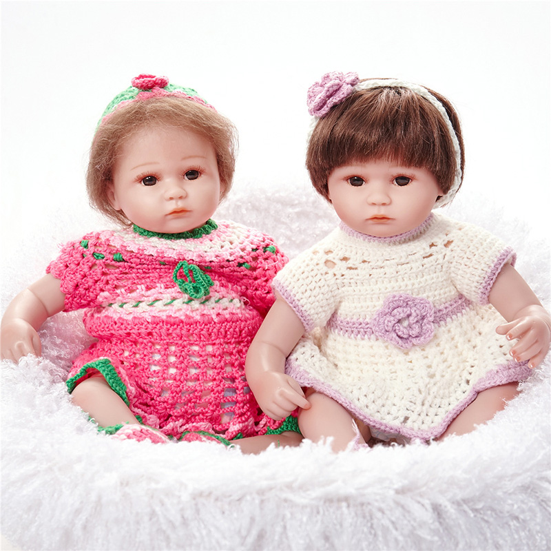 Reborn Baby Doll Gift for Children Present bebe-reborn-com-corpo-de-silicone-menina SB4511 Boneca Birthday Gifts Dolls lol