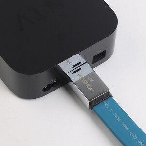 Image 5 - HDMI 2.1 Dây Cáp 8K @ 60Hz 48Gbps Tốc Độ Cực Cao 4K 120 Hz Cho LG Samsung QLED Tivi Đa Phương Tiện Khuếch Đại Máy Chiếu Video Dây Âm Thanh