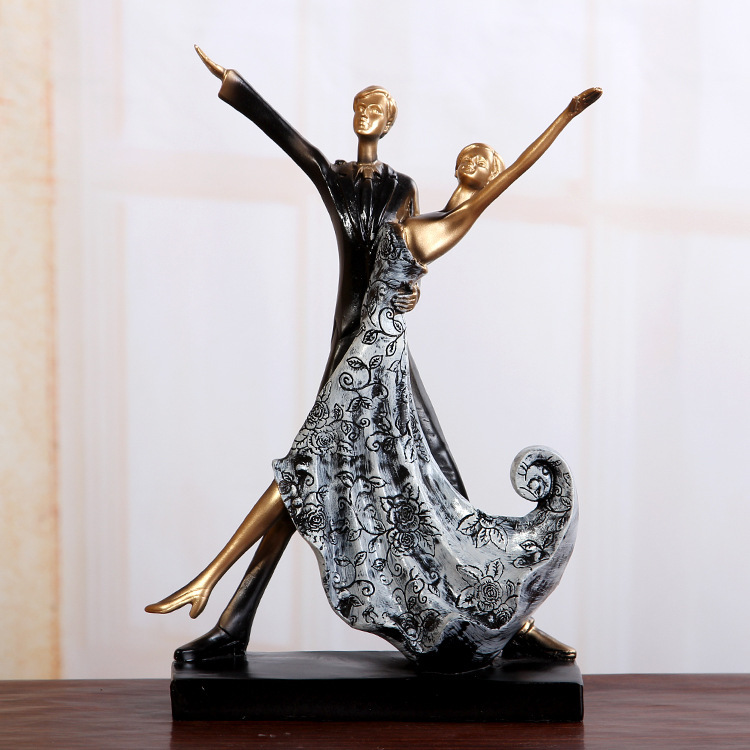 Married the resin handicraft lovers furnishing articles, craft gifts, decorations, FB869