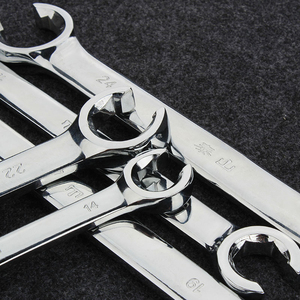 Image 4 - Flare Nut Wrench Set of Oil Pipe Spanner Kit