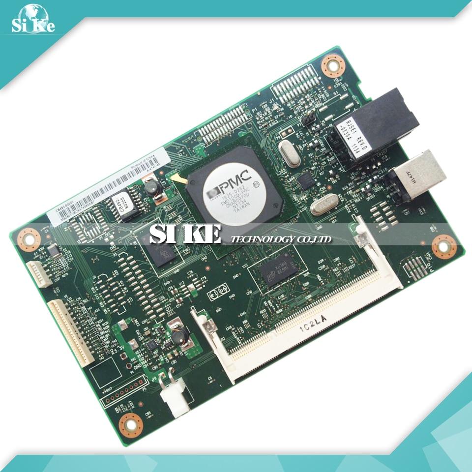 ФОТО Laser Printer Main Board For HP CP2025 CP2025DN 2025 2025DN CB492-60001 HP2025 HP2025DN Formatter Board Mainboard Logic Board