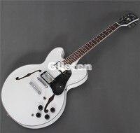335 Jazz guitarra Elétrica, Semi Corpo Oco Archtop Guitarra cor branca, todas as Cores estão disponíveis
