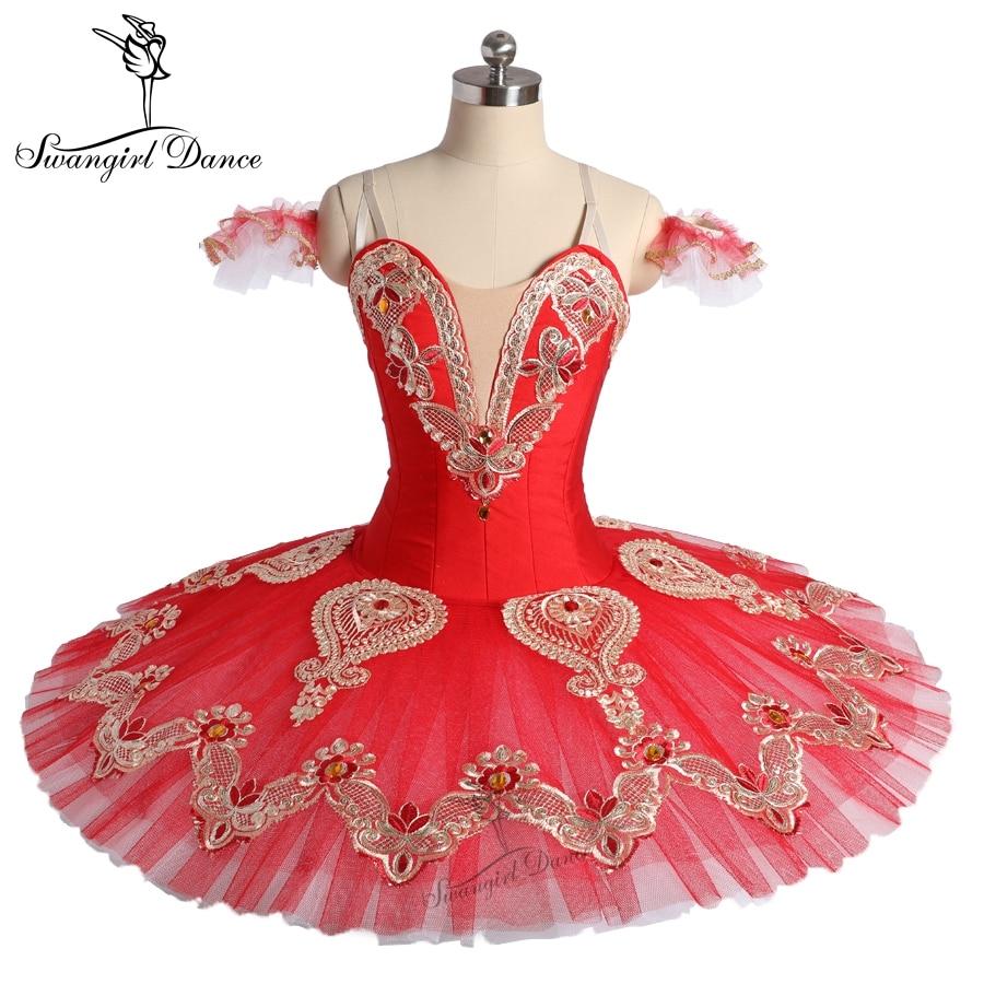 e17b74f45 Junior red pancake tutu costume women calssic ballet platter costume ...