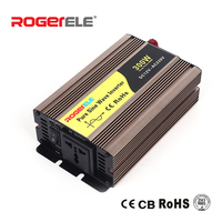 300W 12VDC/24VDC to 110VAC/220VAC Pure Sine Wave Inverter For Home Application With Solar System