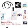 WiFi USB автомобиль Эндоскоп Камера Android iPhone PC поддержка 1/2/3.5/5 М 9 мм Диаметр водонепроницаемый видеонаблюдения бороскоп камеры
