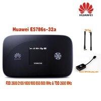 Huawei e5786s 32a 300 Мбит/с 4 г LTE мобильный широкополосный маршрутизатор плюс Телевизионные антенны TS9 и Huawei af10 зарядки адаптер