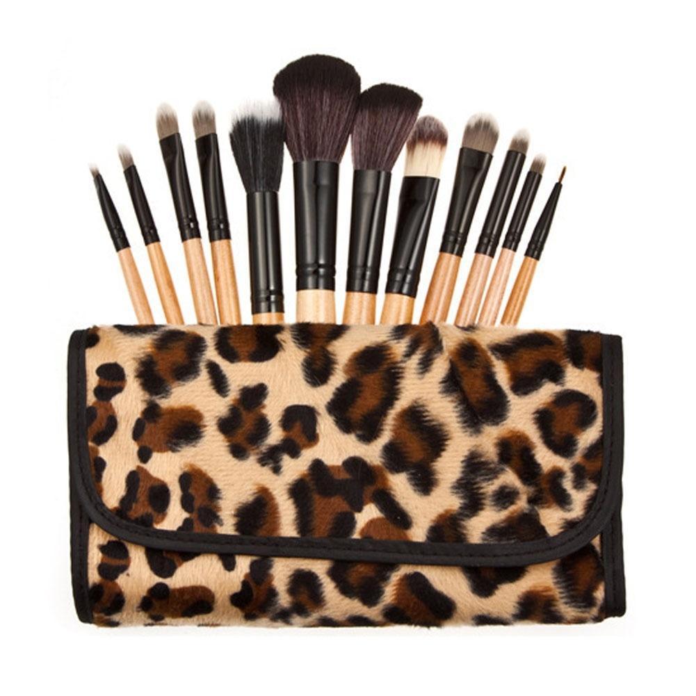 Professional Soft Makeup Brushes Set Cosmetic Makeup Tools eyeshadow blush powder brush set kit with Bag RP1-5