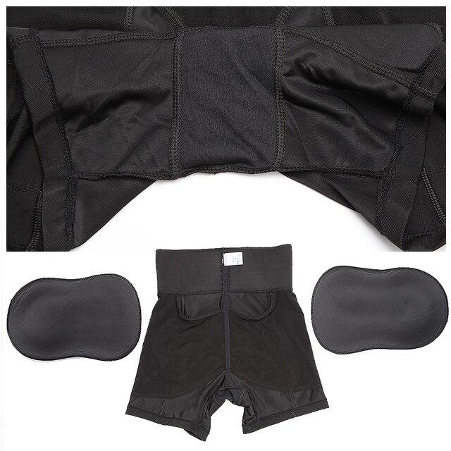 Women High Waist Shaper Butt Lifter Panties Enhancer Padded Control Panties Boyshort Briefs Fake Ass Buttock Hip Pants Underwear 6