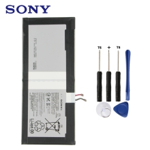 цена на Original Replacement Sony Battery LIS2210ERPC LIS2210ERPX For SONY Xperia Z4 Tablet Ultra SGP712 SGP771 Authentic 6000mAh