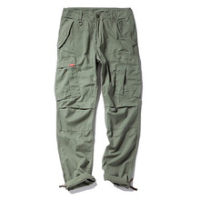 Фотография Men Cargo Pants Casual Fashion Military Army Mens Cotton Pant Trousers