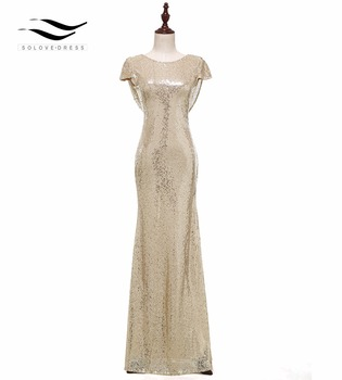 Sequins Bridesmaid Dress Champagne Shining A Line Long Bridesmaid Party Gown Sexy Bridesmaid Dresses 2018 Long Party Dress 613 фото
