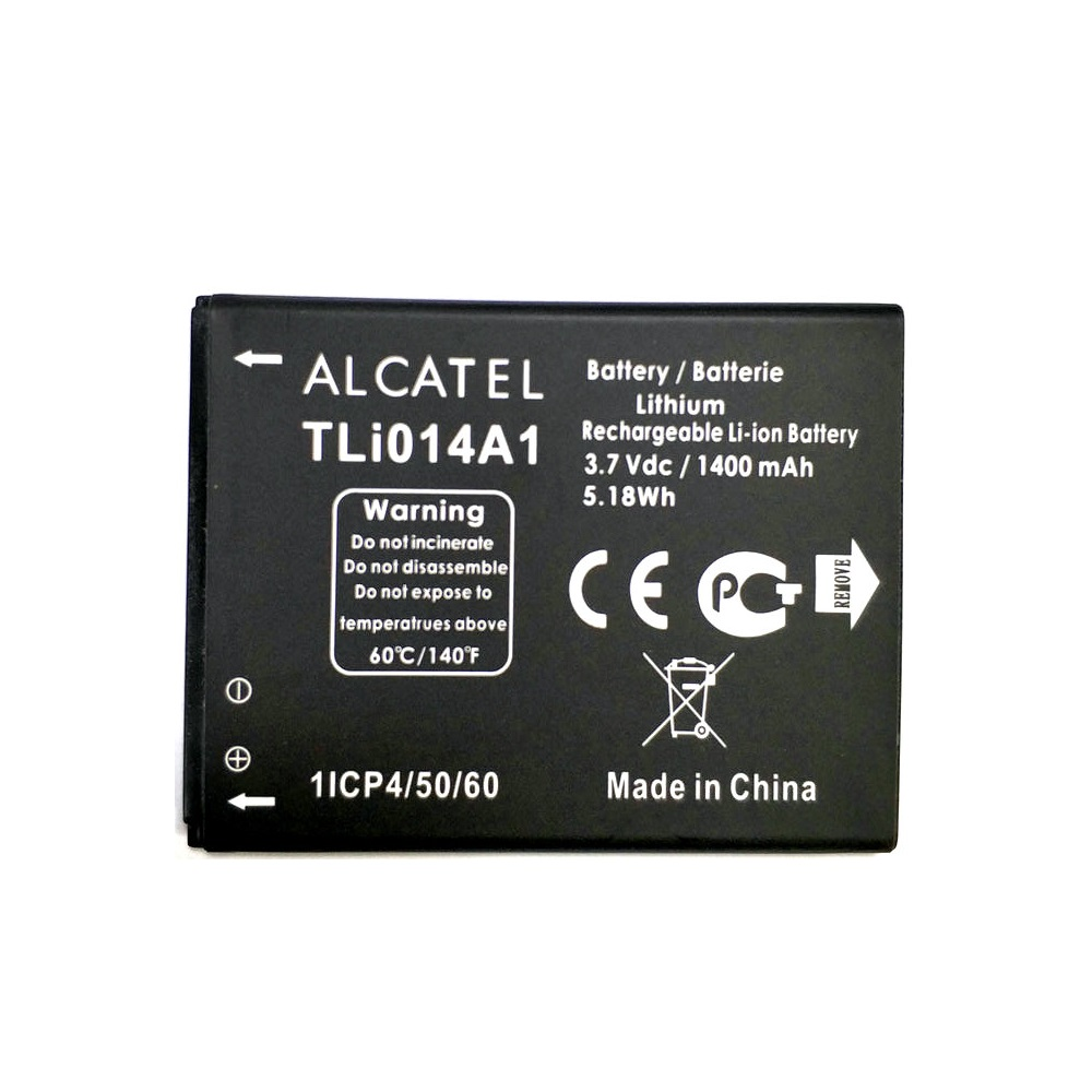 2019 New 1400mAh Li ion TLI014A1 Battery For Alcatel one