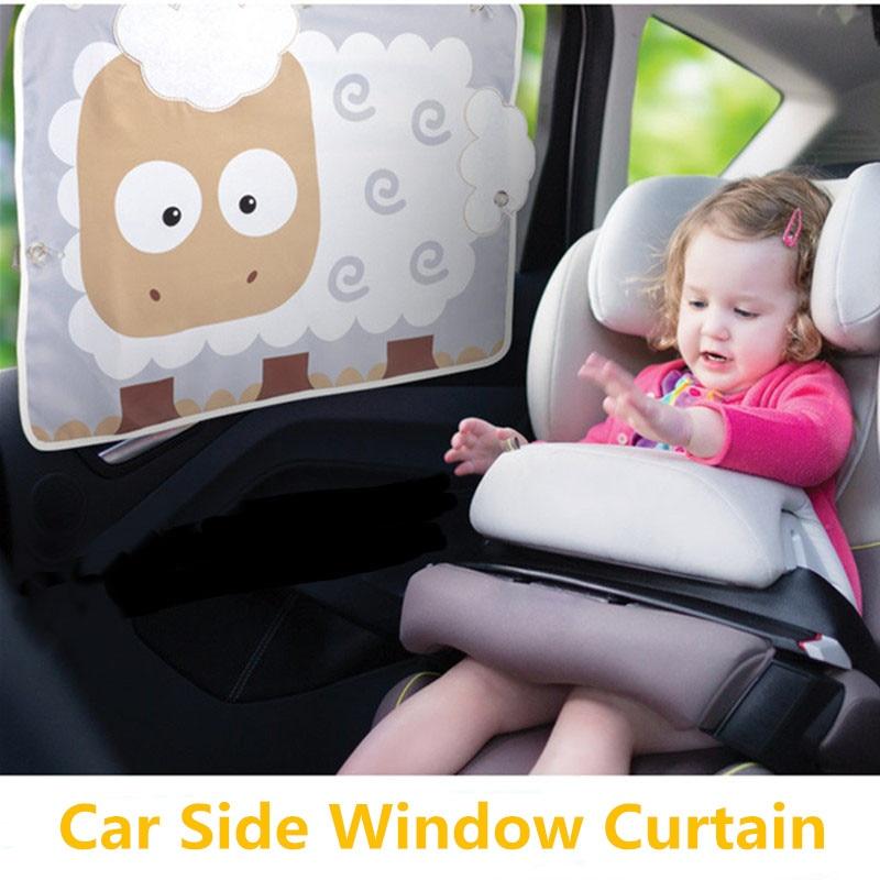 Cartoon Car zavjese bočni prozor Suncobran stražnji prozori - Dodaci za unutrašnjost automobila