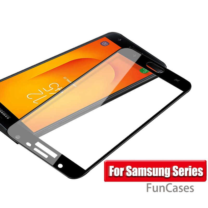 Закаленное Стекло для samsung Galaxy J4 2018 защитный Стекло на samsung J4 J6 A6 A8 плюс J8 2018 Sm J400F Экран протектор