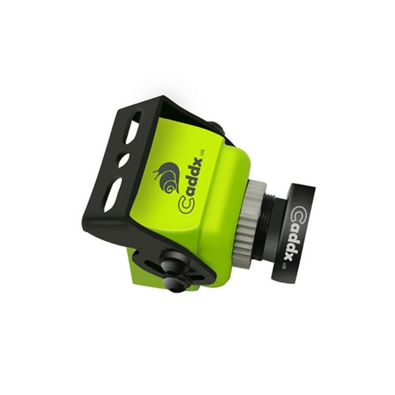 CADDX Turbo F1 1/3 CMOS 2.0mm 1200TVL NTSC/PAL Switchable 16:9/4:3 Mini FPV Camera Yellow /Green For RC Model Multirotor