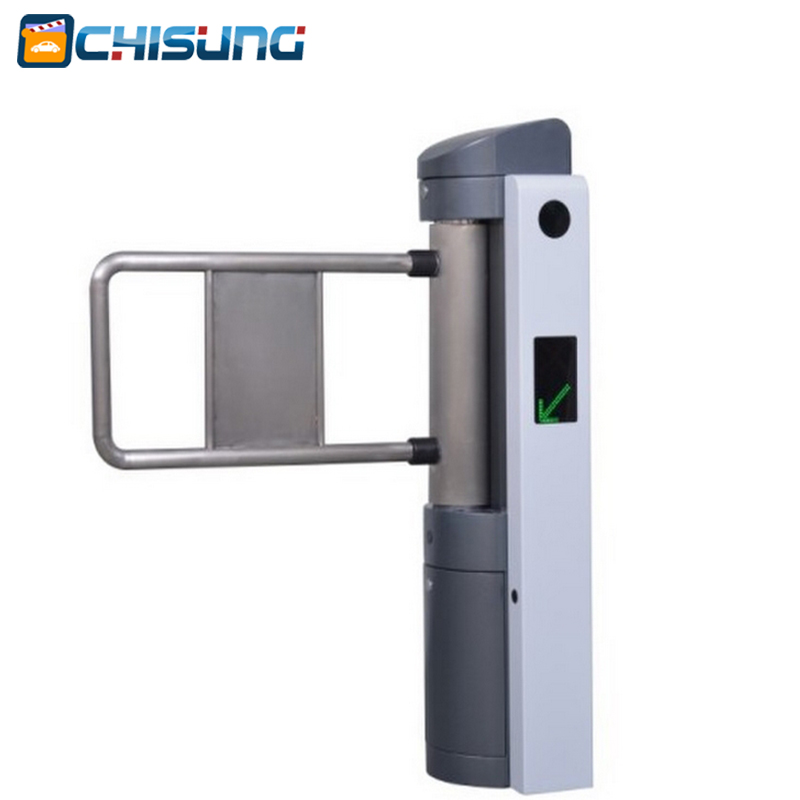 Access control entrance swing gate turnstile for entrance and exit system gate public facilities rfid access control swing gate turnstile for outdoor access gate