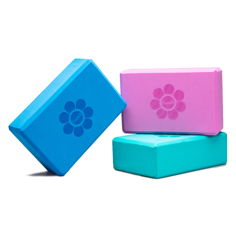 Blöcke 2Pcs Pilates Yoga Block Foaming Foam Brick Exercise Fitness Stretching Aid Gy BT