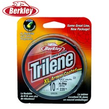 100% Original Berkley TRILENE 201m Nylon Fishing Line 220yd Green 6-20LB Monofilament Strong Linha Multifilamento