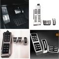Car Gas Brake Foot Rest Fuel Pedals For Audi A3 S3 A4 S4 RS4 A5 S5 RS5 8T A6 4G S6 C7 C6 Q5 Q3 Q7 S5 RS5 A7 S7 SQ5 8R LHD 2009 +
