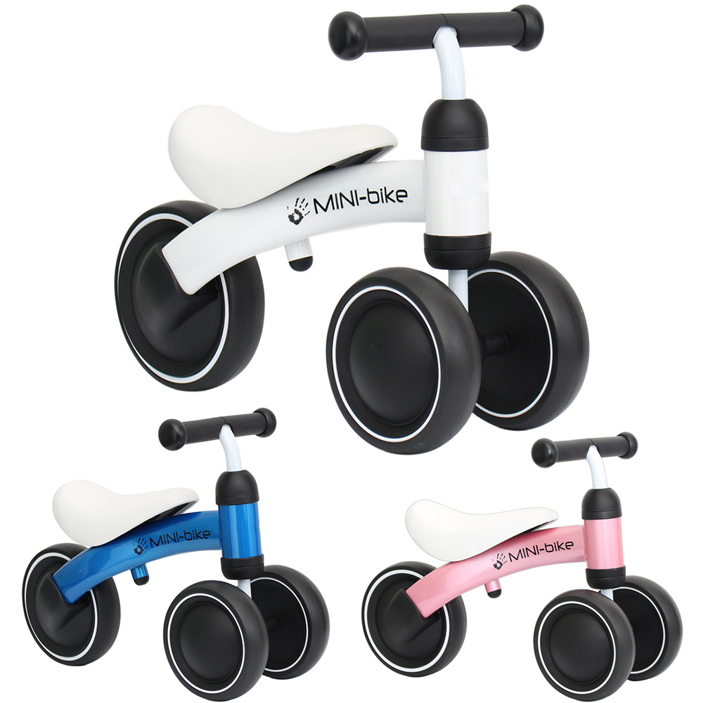 Infant 1-3years Baby Walker Four Wheels Children Balance Bikes Scooter No Foot Pedal Driving Bike Ride On Toys For Baby Play Fun цена