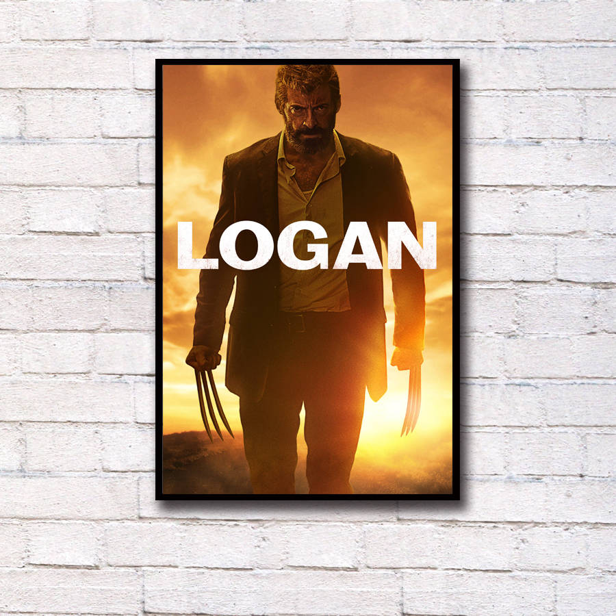 Logan Hugh Jackman Movie Art Print Silk Poster 12x18 24x36