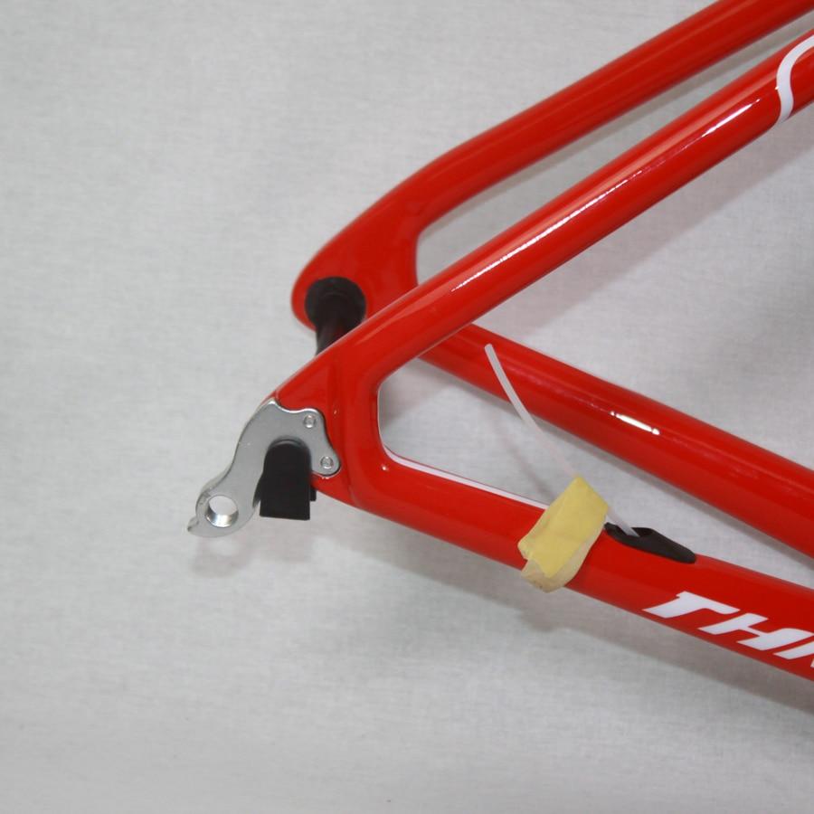 Marco del camino del carbón bicicleta marco tenedor auricular ...