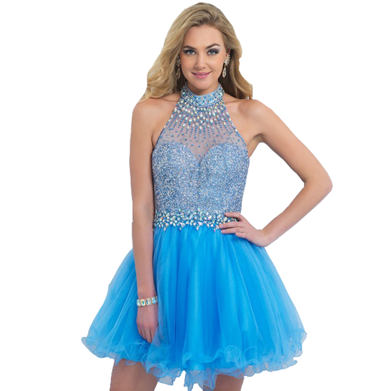Popular Turquoise Homecoming Dresses-Buy Cheap Turquoise ...
