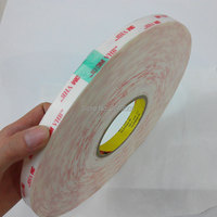 3M 4950 Vhb Acrylic Foam Self Adhesive Tape For Metal,thick 1.1mm,width 10 30mm