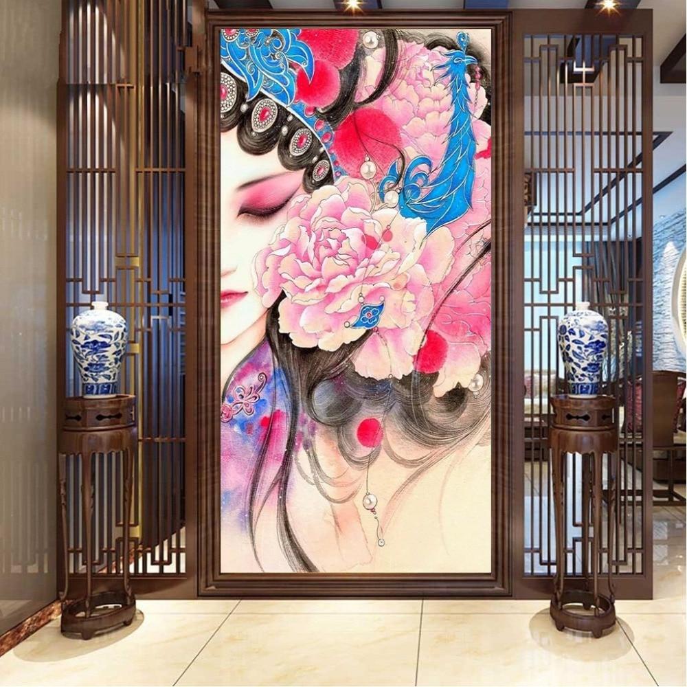 PSHINY 5D DIY Diamantová výšivka výprodej čínské drama Plné - Umění, řemesla a šití - Fotografie 2