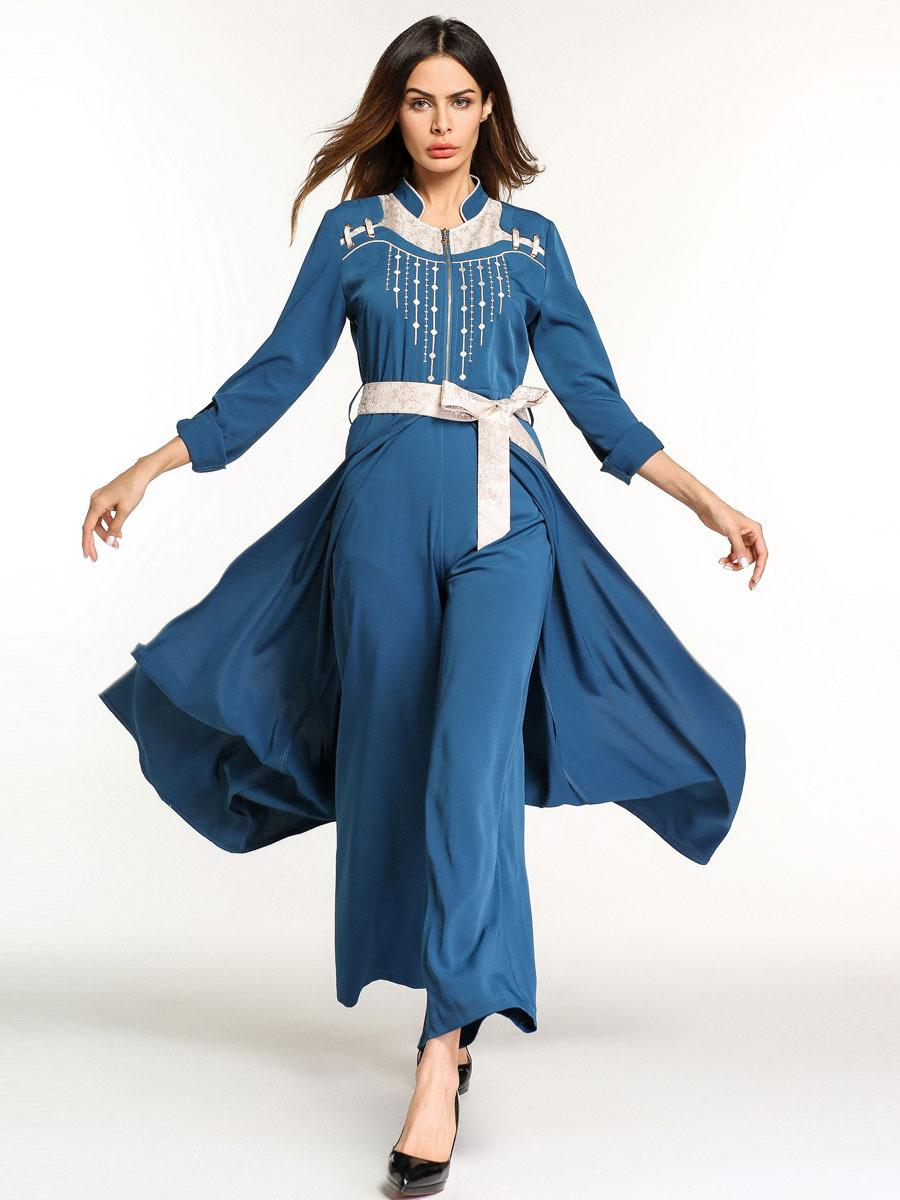 8dd70b71269 Muslim Women Abaya Kaftan Long Cocktail Maxi Party Dress Jumpsuit 2018 New