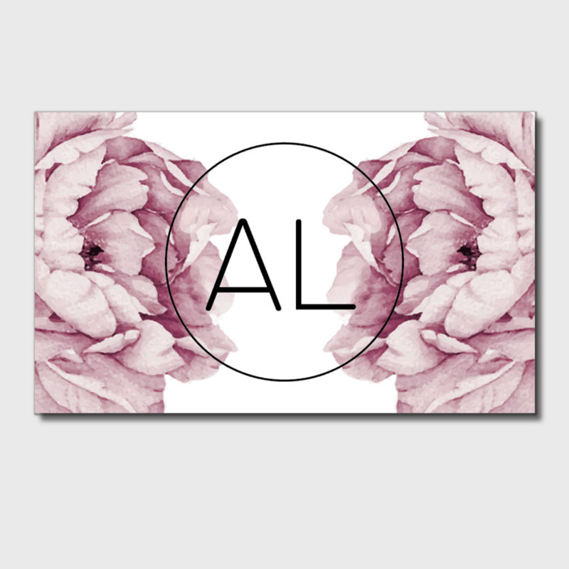 Hand Made Floral Business Cards High Quality Paper Business Cards ...