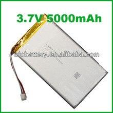2ชิ้นLi-Ionแบตเตอรี่3.7โวลต์5000มิลลิแอมป์ชั่วโมงแบตเตอรี่ลิเธียมแบตเตอรี่แบบชาร์จไฟสำหรับธนาคารอำนาจ,แล็ปท็อปพีซีแท็บเล็ต