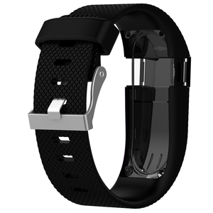 Image 4 - For Fitbit Charge HR Replacement Watch Strap Silicone Watchband for Fitbit Charge HR Activity Tracker Metal Buckle Wrist Band