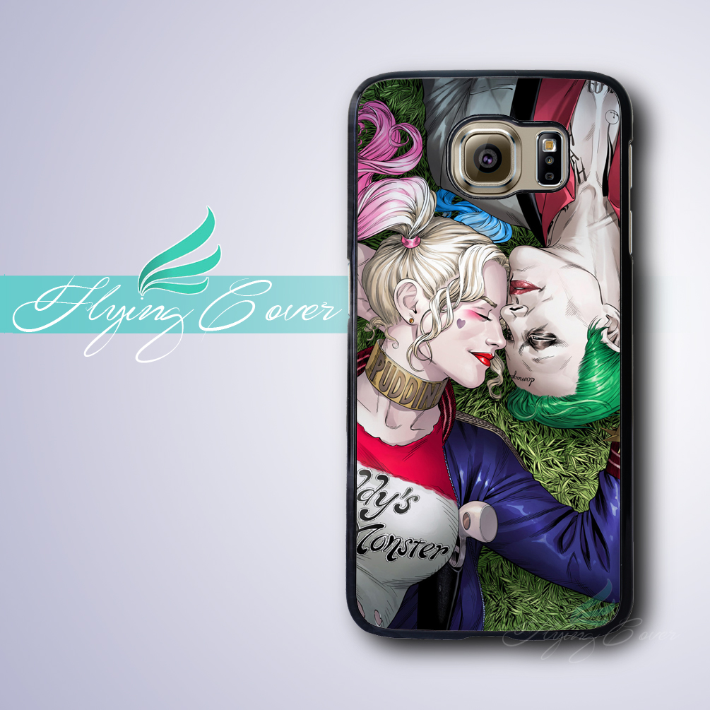 Coque Joker Harley Quinn Capa Case for Samsung Galaxy S8 Plus S4 S5 S6 S7  Active Case for Samsung Galaxy Grand Prime Note 8 Case bc9747adb56e