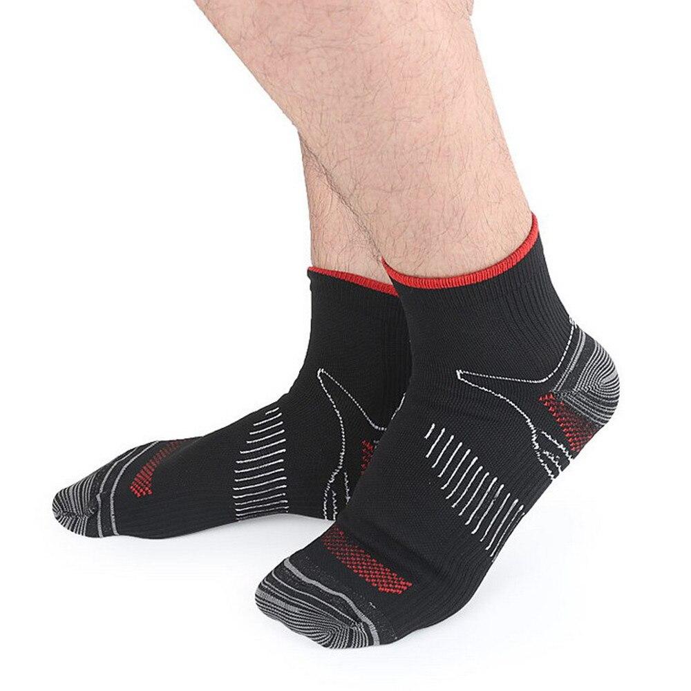 1 Pairs Mode Männer Socken Sport Kurze Röhre Elastische Kompression Atmungsaktivem Schweiß absorbieren Fuß Männlichen Lustige Socken 2018 Heißer verkauf