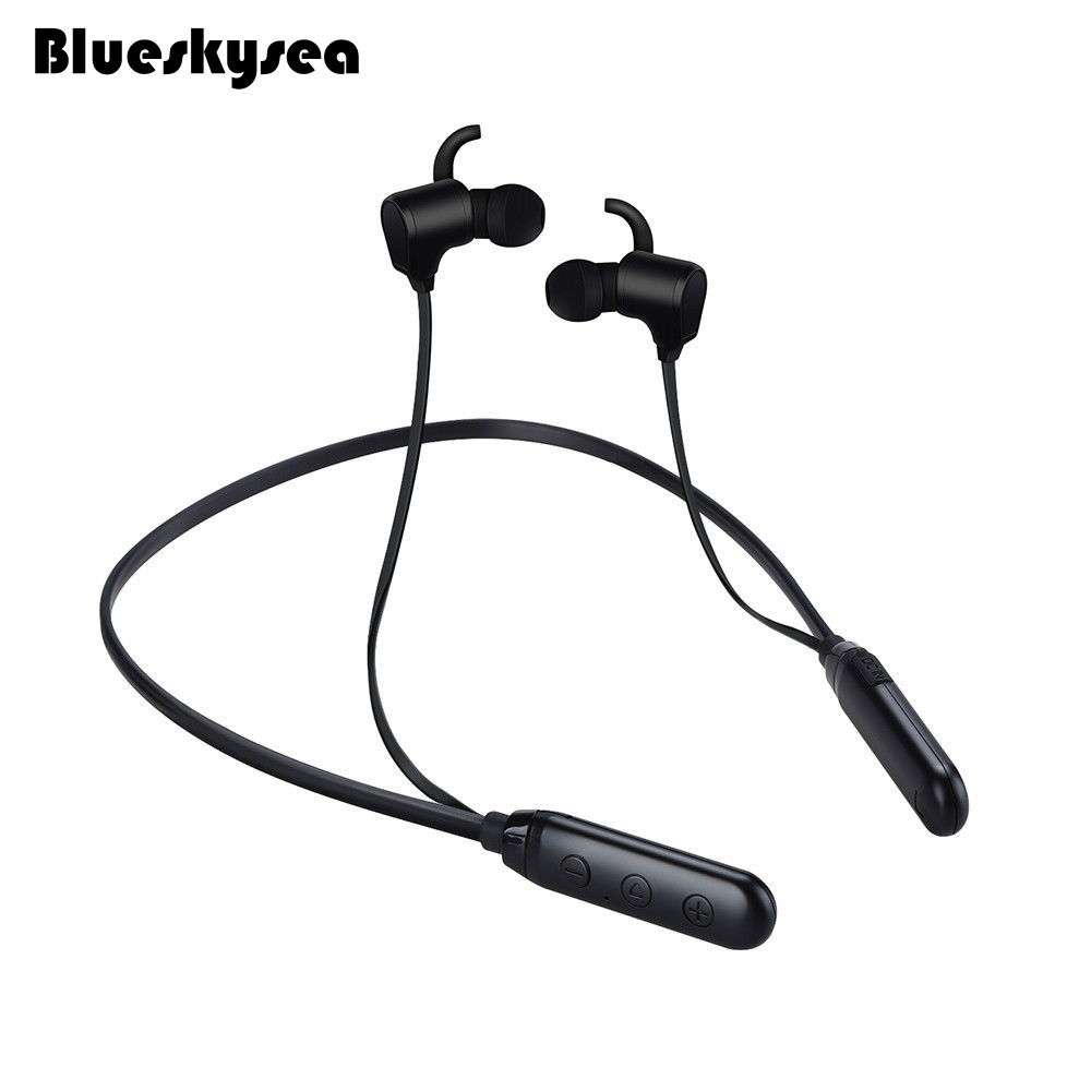 Blueskysea Bluetooth 4.1 Wireless Handsfree Stereo Earphone Headset For Android and IOS Smartphone mini wireless bluetooth earphone sport stereo headset handsfree calls in ear for ios android smart phones