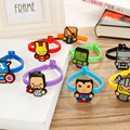 Creative Cartoon Theme Zipper Bracelet Batman Iron-man Wristband Christmas Birthday New Year Party Favor