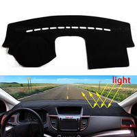 Car Dashboard Avoid Light Pad Instrument Platform Desk Cover Mats Carpets Auto Accessories For Volkswagen VW