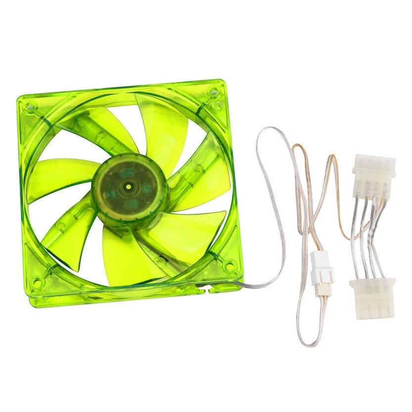 4pcs 120mm 120x25mm 1800PRM 12V 4Pin DC Brushless PC Computer Case Cooling Fan