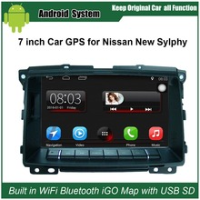 Upgraded Original Car Radio Player Suit to Nissan Sylphy (2009 after) Car Video Player Built in WiFi GPS Navigation Bluetooth